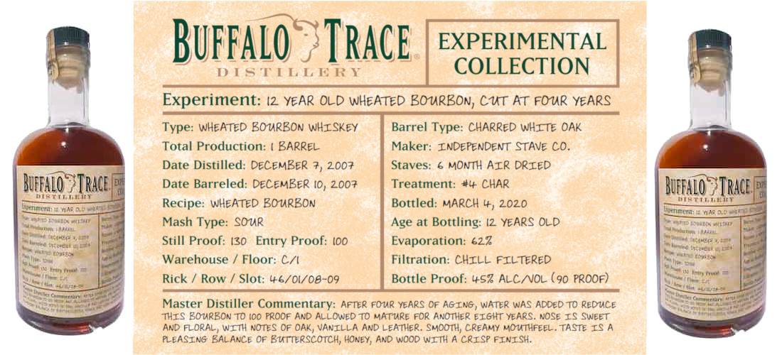 New Experimental Wheat Bourbon Coming Soon from Buffalo Trace