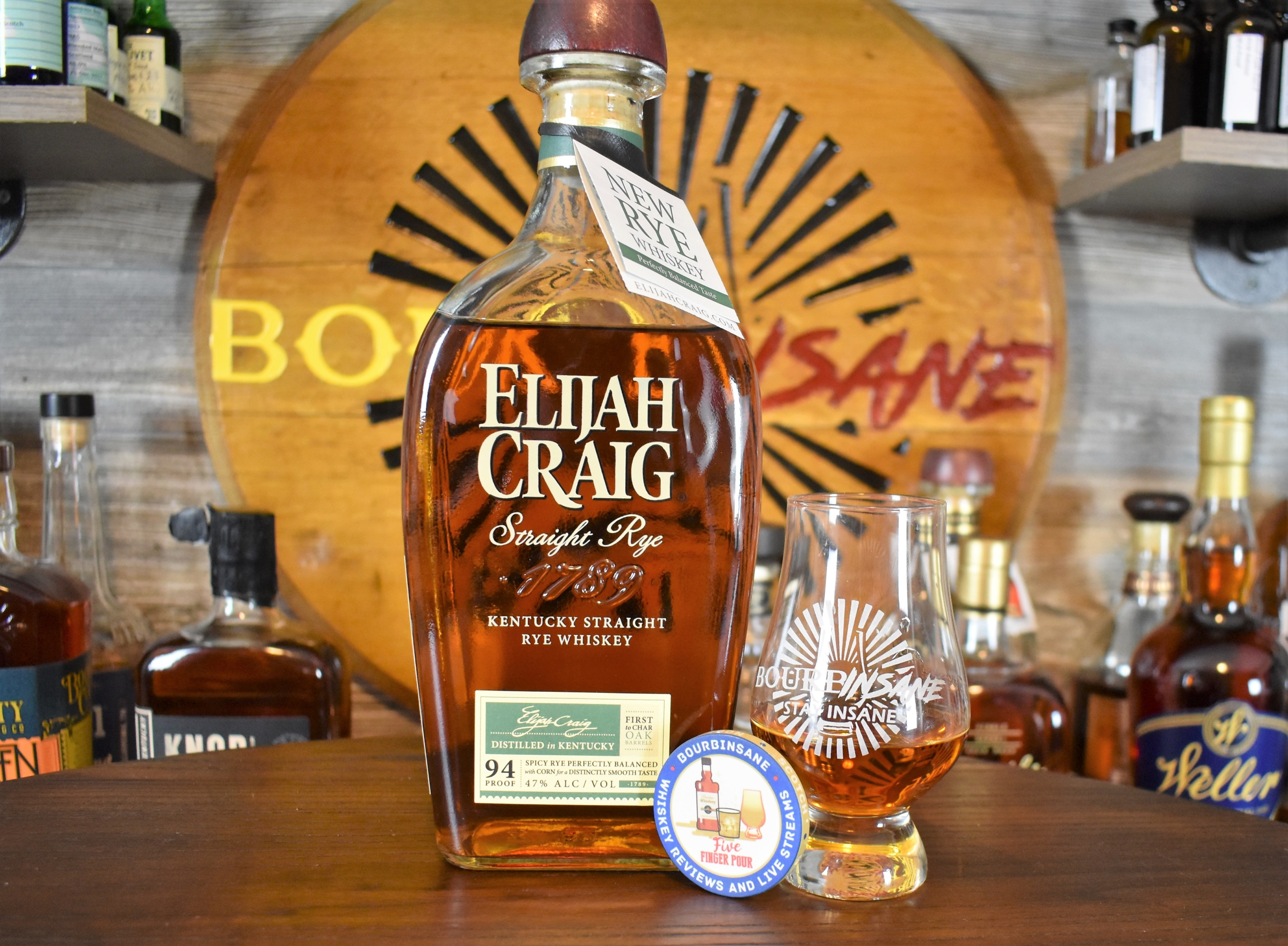 Elijah Craig Straight Rye Whiskey Review