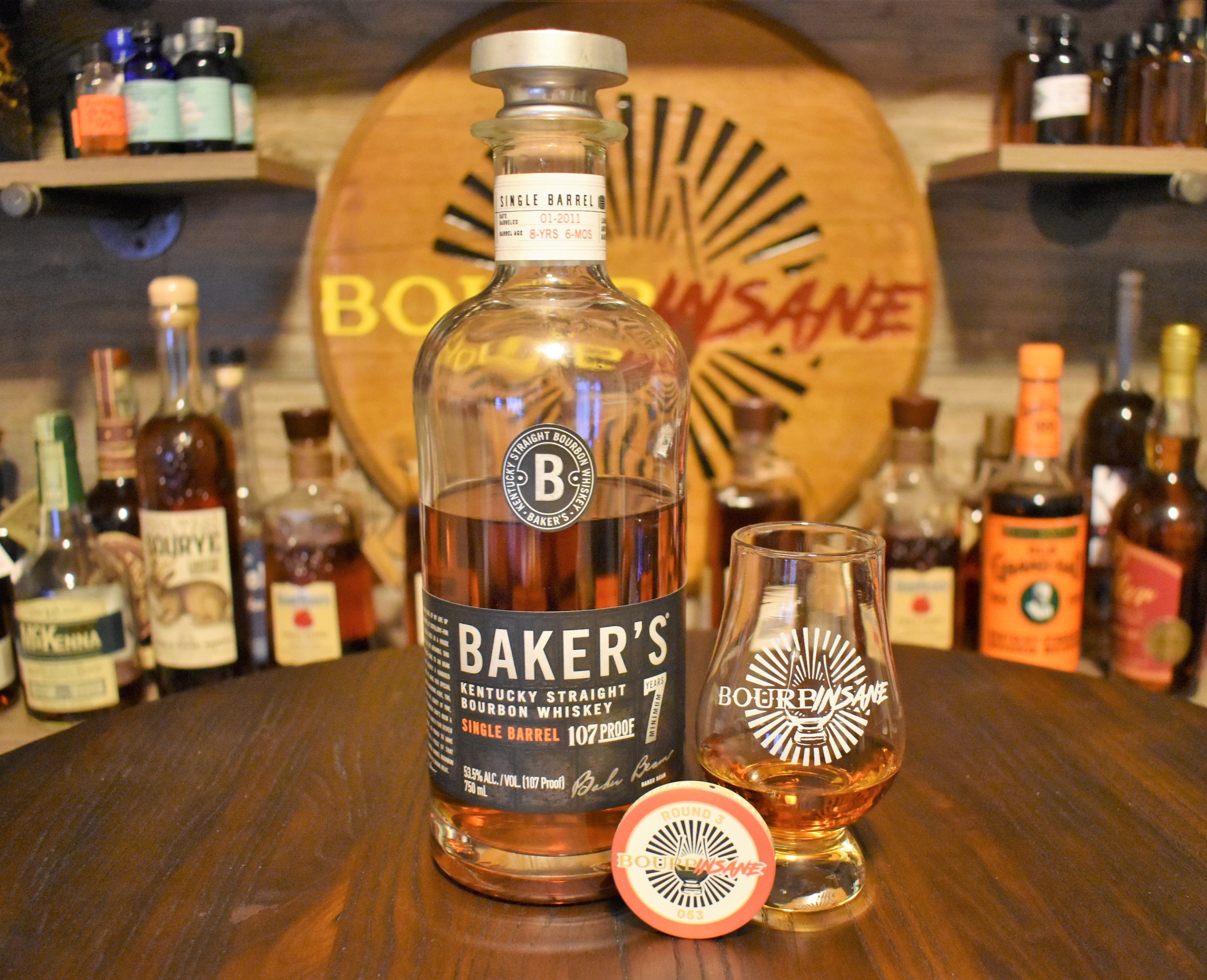 Baker's 7 Year Single Barrel Bourbon Review