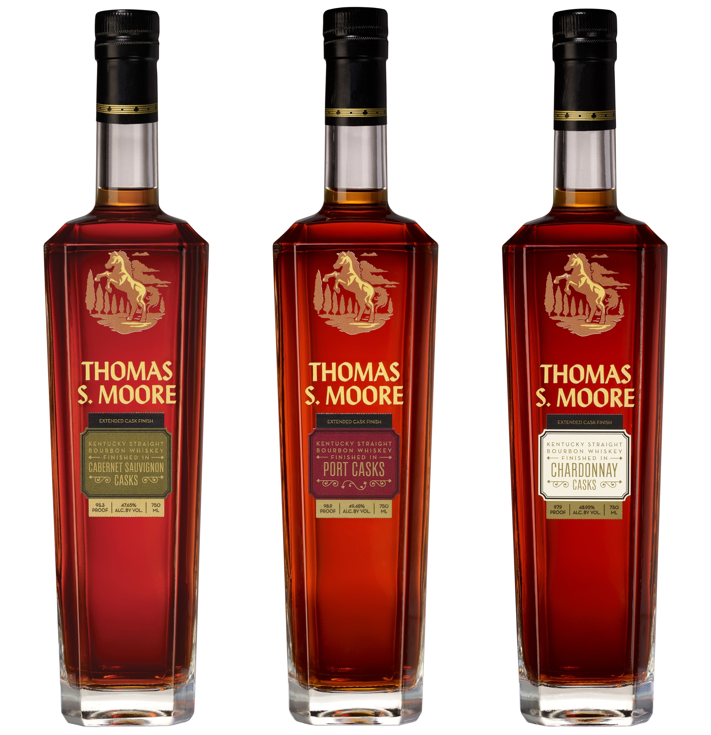 BARTON 1792 DISTILLERY UNVEILS ITS NEW THOMAS S. MOORE BRAND OF CASK FINISHED BOURBON WHISKEYS